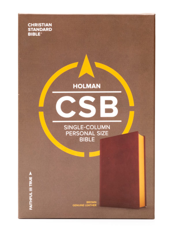 CSB Personal Reference Front Cover