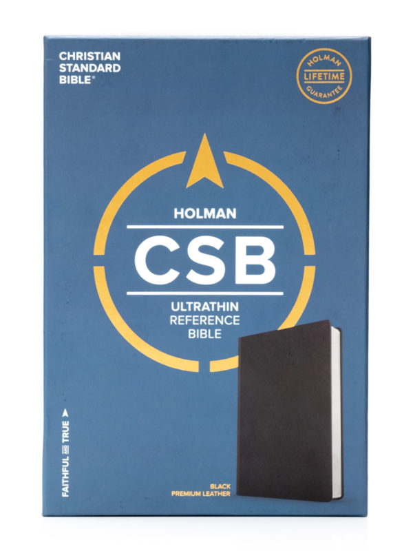CSB Premium Ultrathin Bible Cover Image