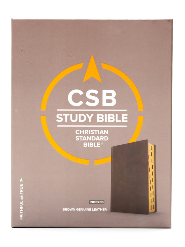 CSB Study Bible Front Cover