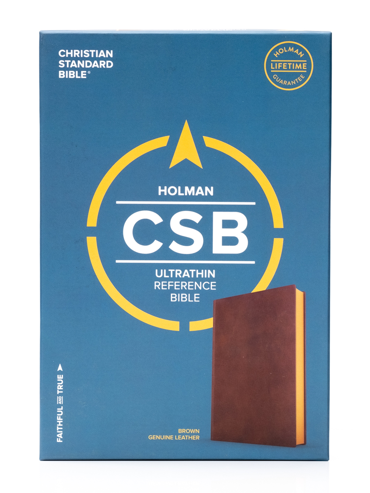 CSB Ultrathin Brown Front Cover