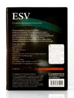 Cambridge ESV Clarion Reference Bible Back Cover