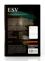 Cambridge ESV Pitt Minion Back Cover