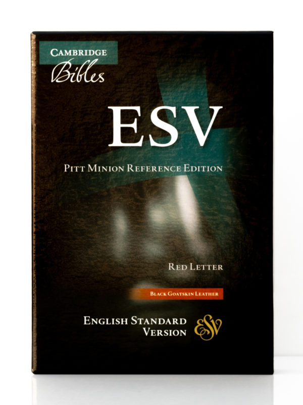Cambridge ESV Pitt Minion Front Cover