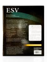 Cambridge ESV Wide Margin Back Cover