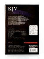 Cambridge KJV Concord Reference Bible Back Cover