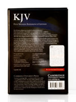 Cambridge KJV Pitt Minion Back Cover