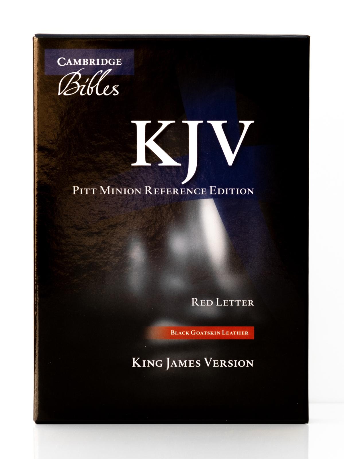 Cambridge KJV Pitt Minion Front Cover