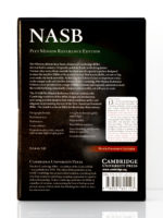 Cambridge NASB Pitt Minion Back Cover