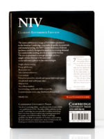 Cambridge NIV Clarion Reference Bible Back Cover