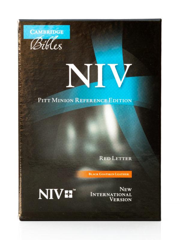 Cambridge NIV Pitt Minion Front Cover