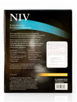 Cambridge NIV Wide Margin Back Cover