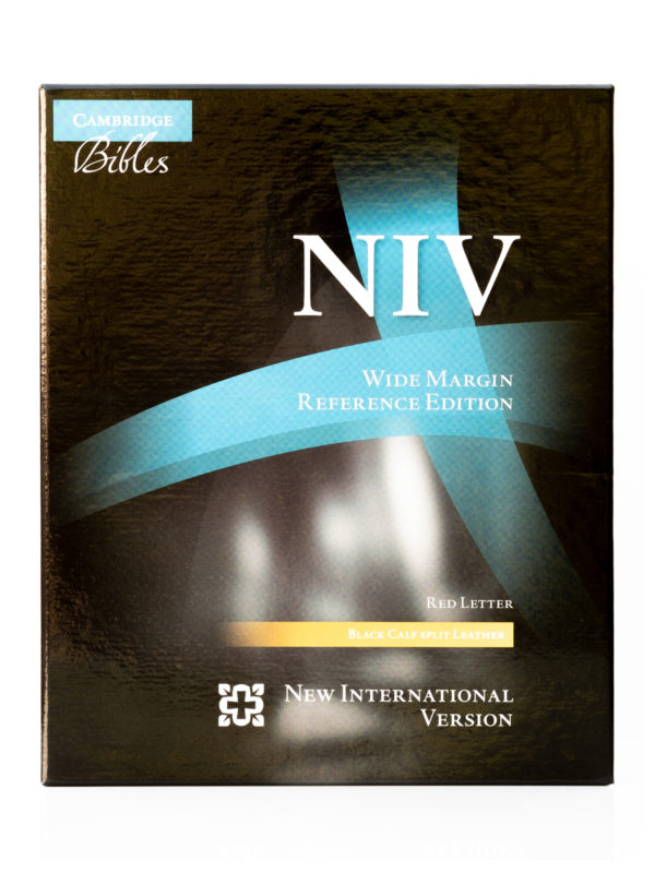 Cambridge NIV Wide Margin Front Cover