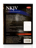 Cambridge NKJV Clarion Reference Bible Back Cover