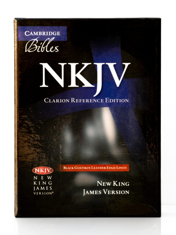 Cambridge NKJV Clarion Reference Bible Front Cover