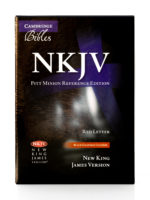 Cambridge NKJV Pitt Minion Front Cover