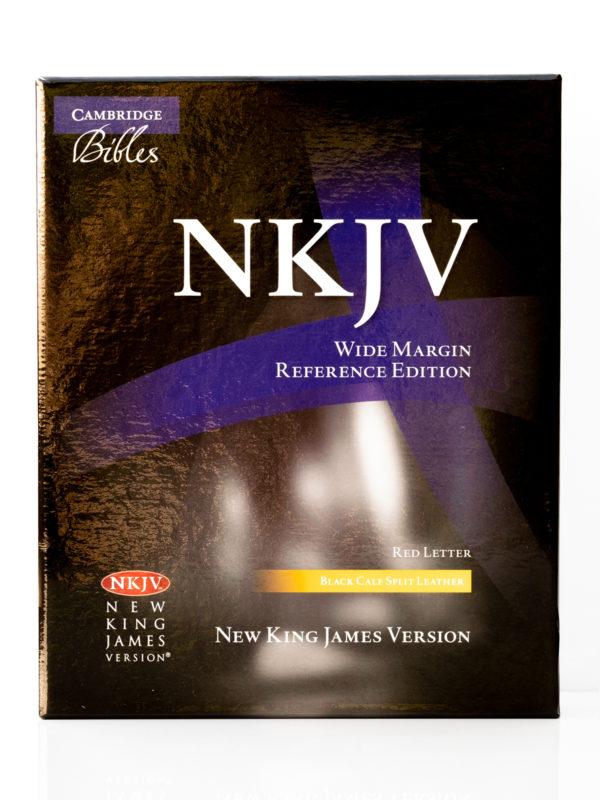 Cambridge NKJV Wide Margin Front Cover