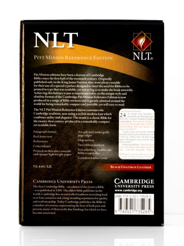 Cambridge NLT Pitt Minion Back Cover