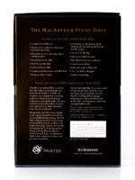 ESV MacArthur Study Bible Back Cover