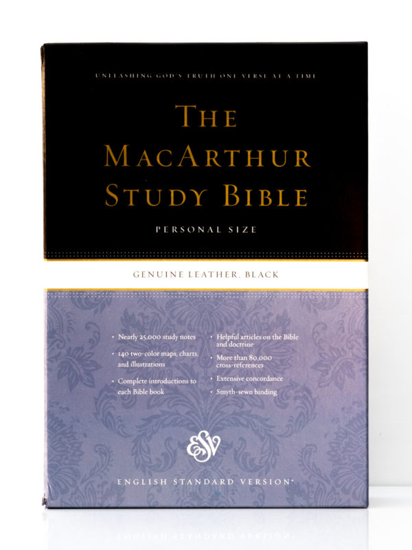 ESV MacArthur Study Bible Front Cover
