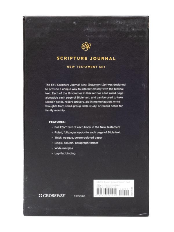 ESV Scripture Journal Set Back Cover
