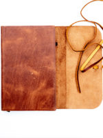 ESV Thinline Cowhide - Leather Open