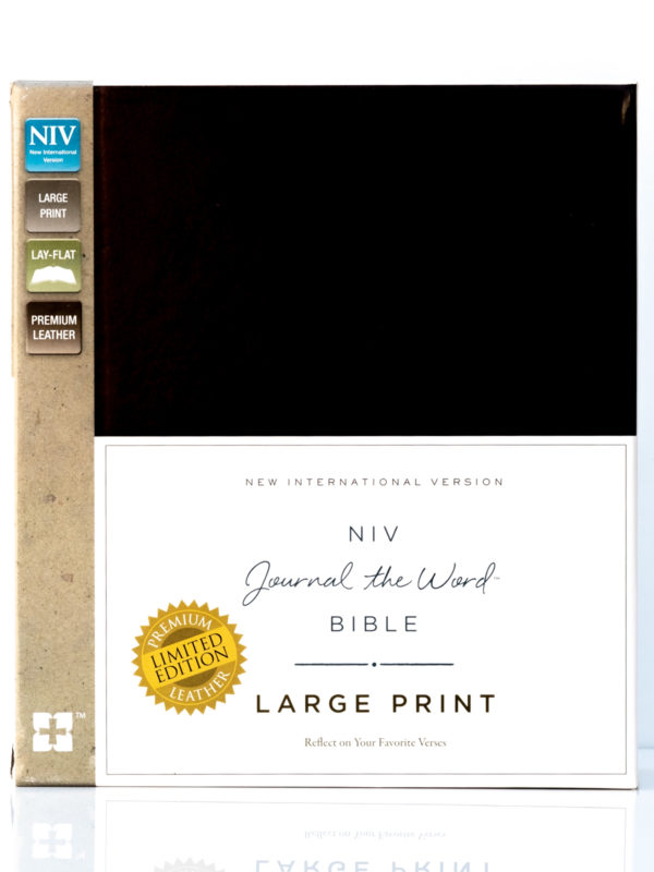 NIV Journal the Word Large Print Front Cover