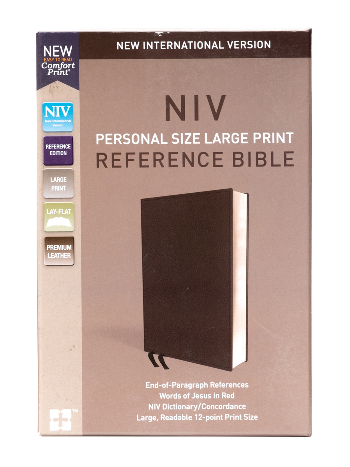 NIV Personal Reference Bible Front Cover