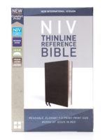 NIV Premium Thinline Reference Bible Front Cover