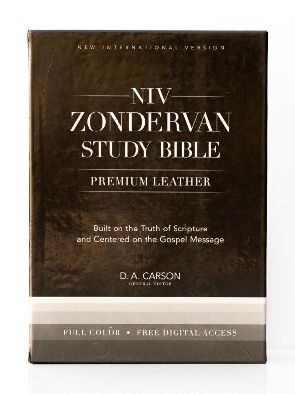 NIV Zondervan Study Bible Front Cover