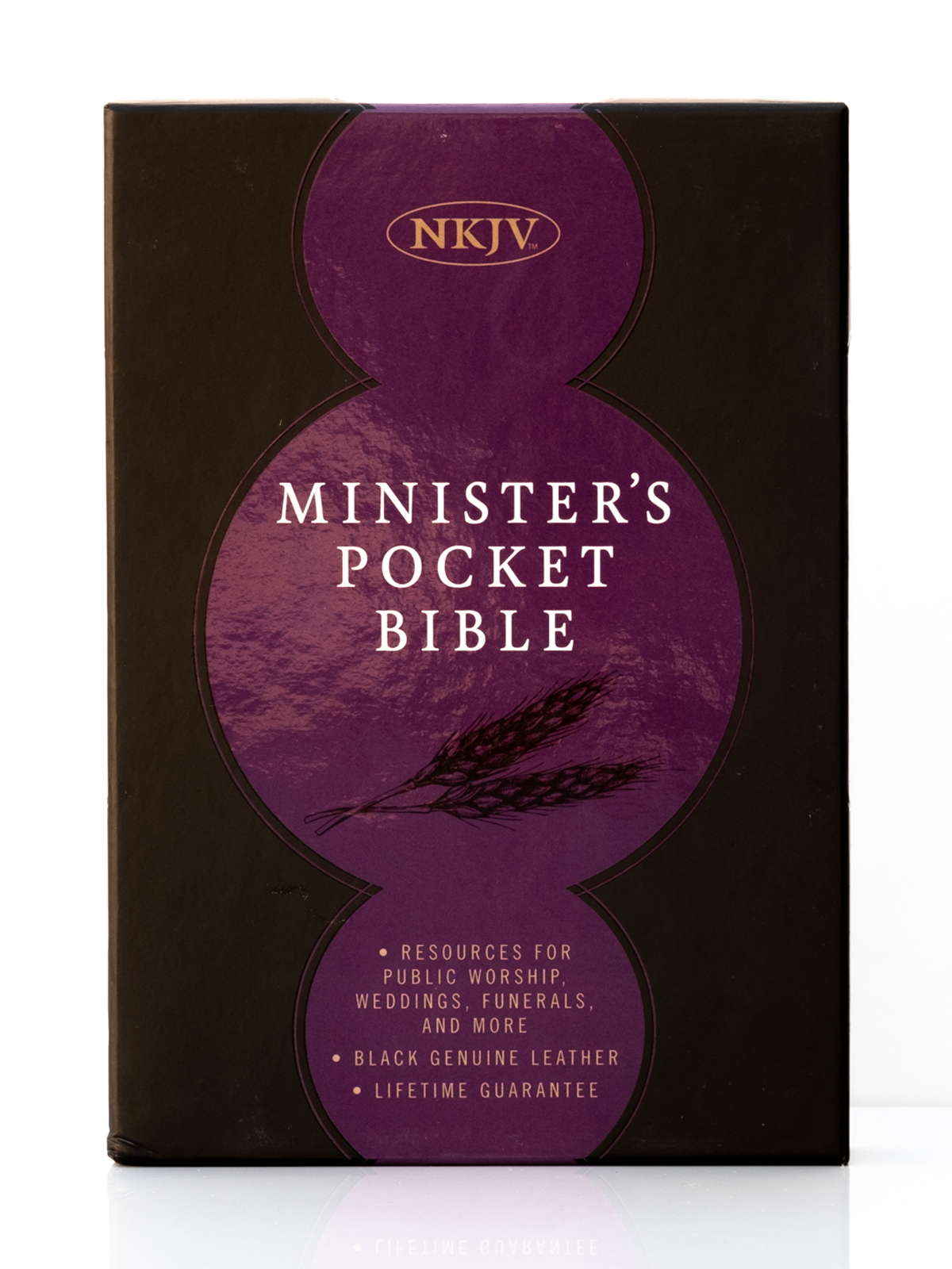 NKJV Ministers Pocket Bible Front Cover