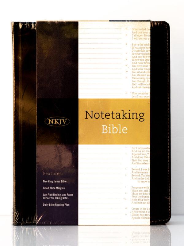 NKJV Notetaking Bible Front Cover
